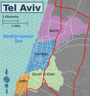 Districts of Tel Aviv