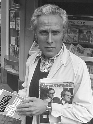 Willem Oltmans - Willem Oltmans in 1973