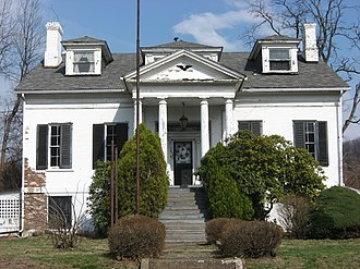 William B. Dunlap Mansion - Front of the mansion