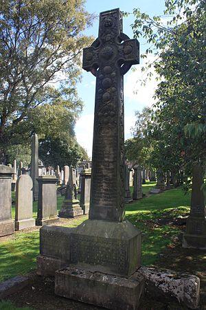 William Maxwell Hetherington - William Maxwell Hetherington's  grave, Grange Cemetery