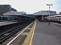 Wimbledon station mainline fast northbound look south.JPG