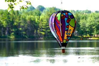 Whirligig - Wind-driven whirligig at a lake in Nova Scotia, Canada