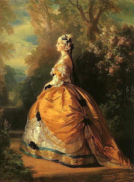 File:Winterhalter, Franz Xaver - The Empress Eugénie - 1854.jpg