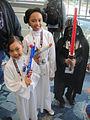 WonderCon 2012 - little Princess Leias and Darth Vader (7019458805).jpg
