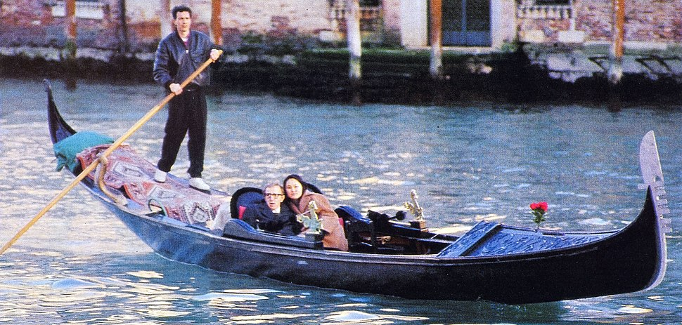 Woody Allen Soon Yi Previn in Venice - GianAngelo Pistoia