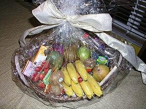 Gift basket - A standard gift basket