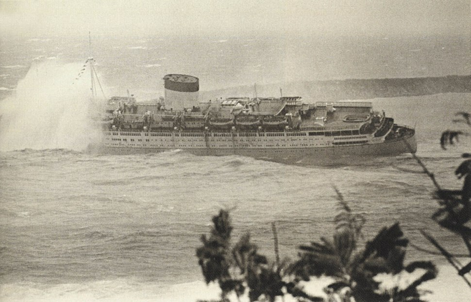 Wreck of the Caribia