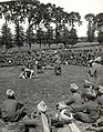 Wrestling matches, Jats at play (near Merville, France). Photographer- H. D. Girdwood. (13874040135).jpg