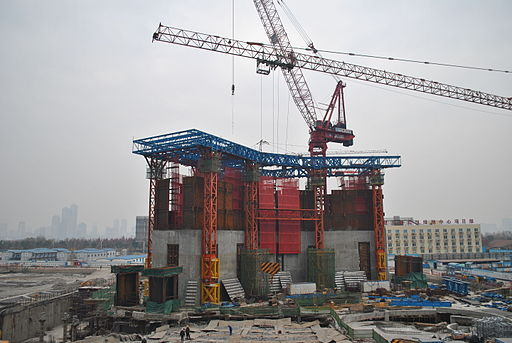 Wuhan Greenland Center on Dec 27 2014 2