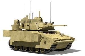 Future Combat Systems Manned Ground Vehicles - XM1201 Reconnaissance and Surveillance Vehicle (RSV)