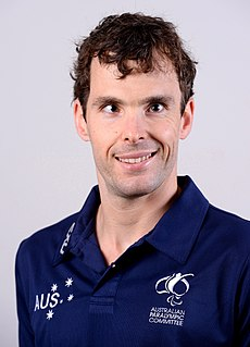 Matt Levy Australian Paralympic swimmer