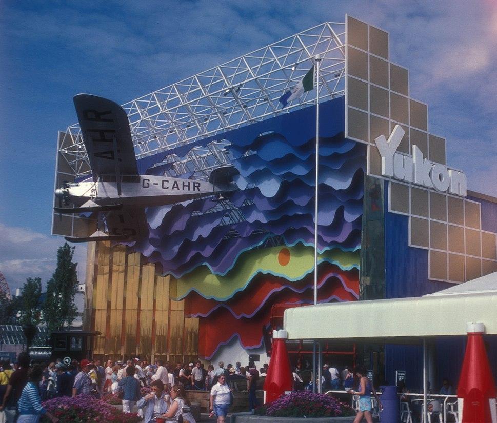 YUKON PAVILION AT 86 EXPO, VANCOUVER, B.C.