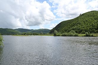 Greater Khingan - Image: Yalu river (nonni river tributary) in Greater Khingan range, Manchuria, China