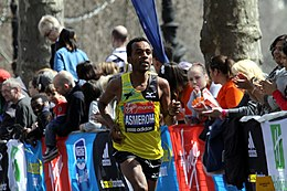Yared Asmerom during 2013 London Marathon (2).JPG