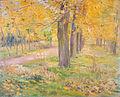 Yellow-leafed Poplars by Kuroda Seiki (Iwami Art Museum).jpg