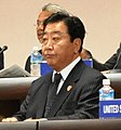 Yoshihiko Noda copped 2 APEC Japan 2010 Finance Ministers Meeting member 20101106.jpg