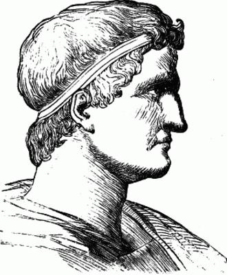 Battle of Sacriporto - A rendition of Lucius Cornelius Sulla Felix.