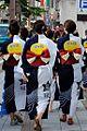 Yukata girls of Kanazawa-Seiryo in June 2010.jpg