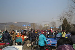 Pinggu District District in Beijing, Peoples Republic of China