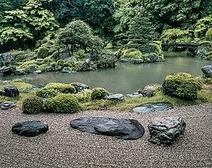 Sanbō-in - Temple garden