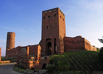 Mazovia - Castle of the Mazovian Dukes in Czersk, 1410