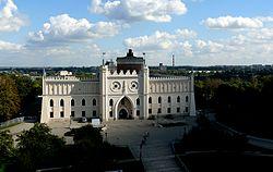 Zamek w Lublinie od strony zachodniej.jpg