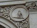 Zaragoza - Antigua Facultad de Medicina - Medallón - Buho.jpg