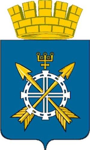 Zavodoukovsk - Image: Zavodoukovsk Coat of arms