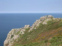 Zennor Head, looking north
