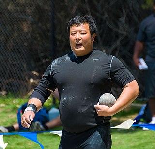 Zhang Jun (shot putter) Chinese shot putter