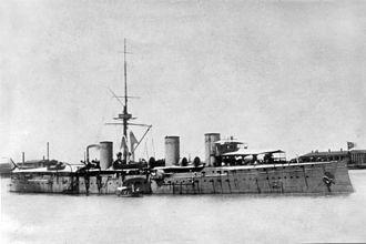 Russian cruiser Zhemchug - Image: Zhemchug after 1909