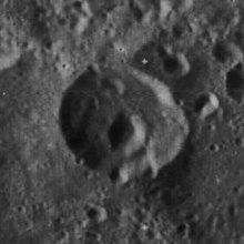 日里茨基陨石坑