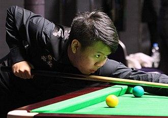 Zhou Yuelong - 2016 Paul Hunter Classic