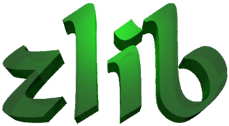 Zlib License - Image: Zlib 3D green