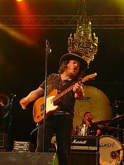 Zucchero live allo Skanderborg Festival nel agosto 2007