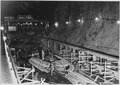 """Excavation and forms for tunnel plug in diversion tunnel No. 4."" - NARA - 293696.tif"