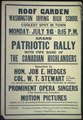 """Grand Patriotic Rally with Pipe band of The Canadian Highlanders...."" - NARA - 512597.tif"