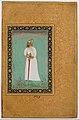 """Portrait of Ibrahim 'Adil Shah II of Bijapur"", Folio from the Shah Jahan Album MET DT2793.jpg"