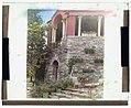 """Rock Rose,"" Edward K. Rowland house, 200 Pine Tree Road, Radnor, Pennsylvania. Terrace pavilion wall LCCN2008680071.jpg"