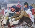 """The Butchering"" c. 1947 by Robert Edward Weaver.jpeg"