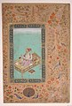 """The Emperor Shah Jahan with his Son Dara Shikoh"", Folio from the Shah Jahan Album MET sf55-121-10-36a.jpg"