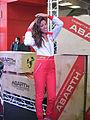 """"""" 12 - ITALY - ABARTH - Girls of Motorshow Bologna ( ragazze al motorshow di Bologna) 3.JPG"""