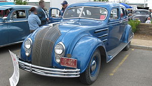 Chrysler Airflow - Front view of a restored '34 Airflow.
