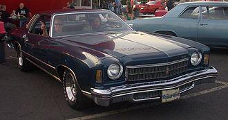 Chevrolet Monte Carlo - 1975 Chevrolet Monte Carlo