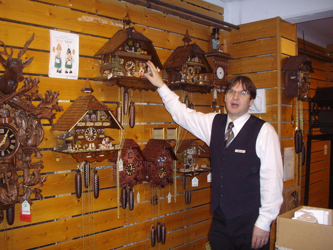 'Drubba Clock factory ' in Titisee in Germany..jpg