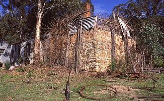 Yerranderie - Image: (1)Yerranderie ruins of home