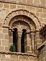 Ágreda - Iglesia de San Miguel - Torre - Ventana 02.jpg