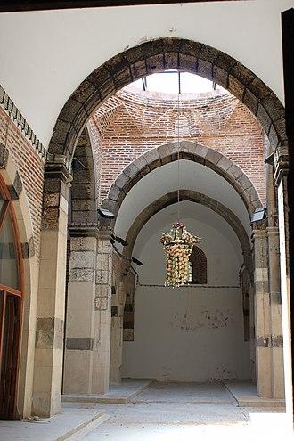 Çay - Çay Kervansaray built 1278