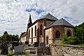 Église Saint-Paul de Courtonne-les-Deux-Églises. Vue sud-est.jpg
