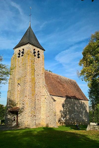 Étigny, église